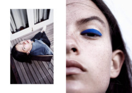 Caitlin Flanelle Magazine Make up by Teresa Hofmeister