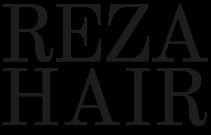 Rezahair Salon Logo
